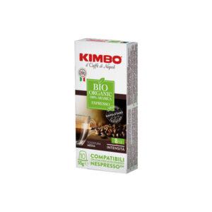 Kimbo Bio Organic συμβατές κάψουλες Nespresso
