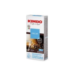 Kimbo Decaf συμβατές κάψουλες Nespresso