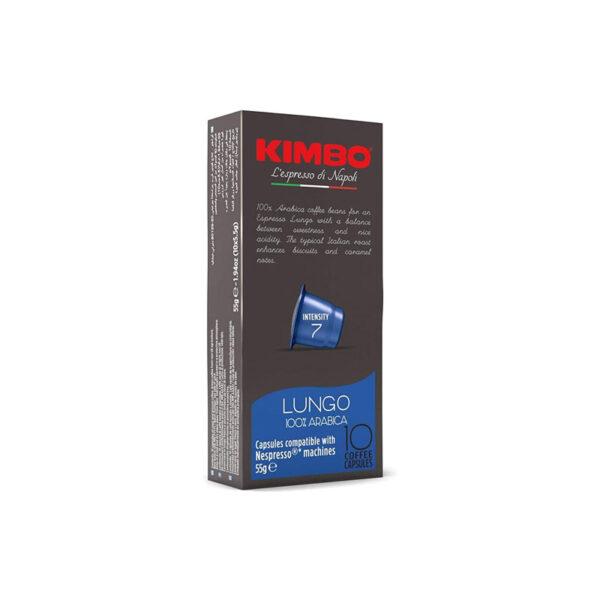 Kimbo Lungo συμβατές κάψουλες Nespresso