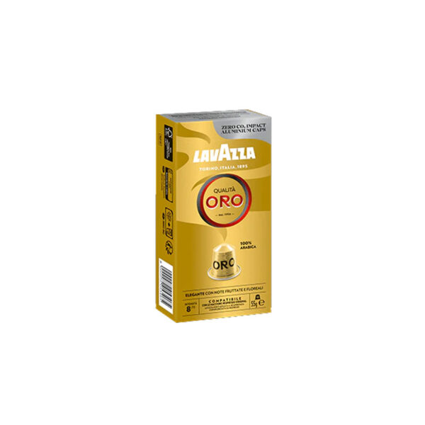 Lavazza Qualita Oro συμβατές κάψουλες Nespresso
