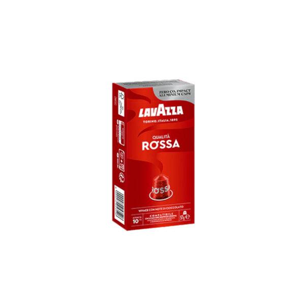 Lavazza Qualita Rossa συμβατές κάψουλες Nespresso