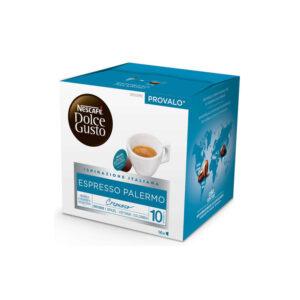 Nescafe Dolce Gusto Espresso Palermo πλάγια εικόνα 16 τεμάχια